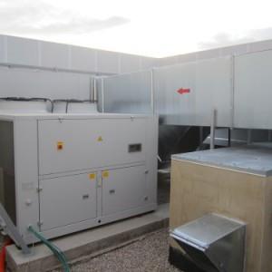 Apantallamiento de sistema de climatización