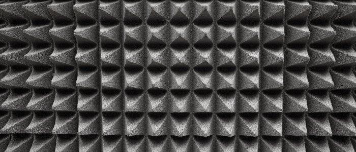 espuma absorbente acústica