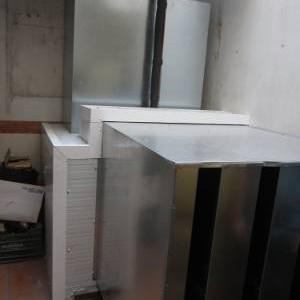 Encapsulado acústico en cámara frigorífica